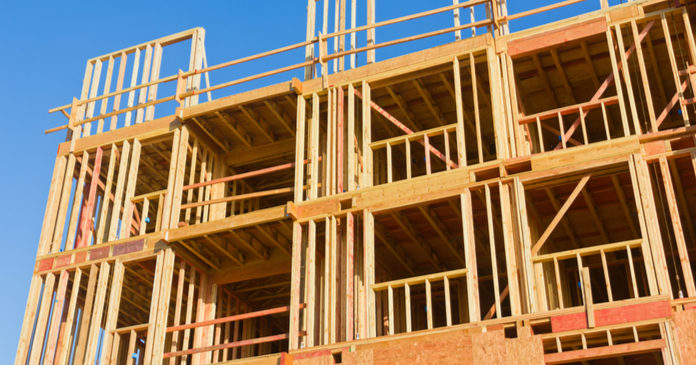 wood apt construction