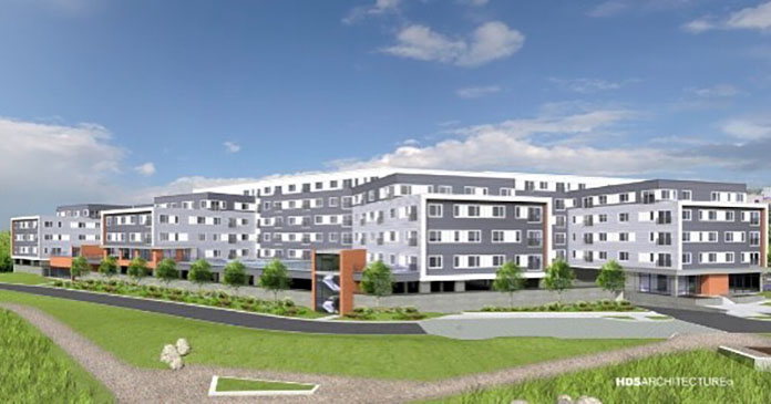 Callahan Construction breaks ground on luxury waterfront apartment complex in Lynn North Shore