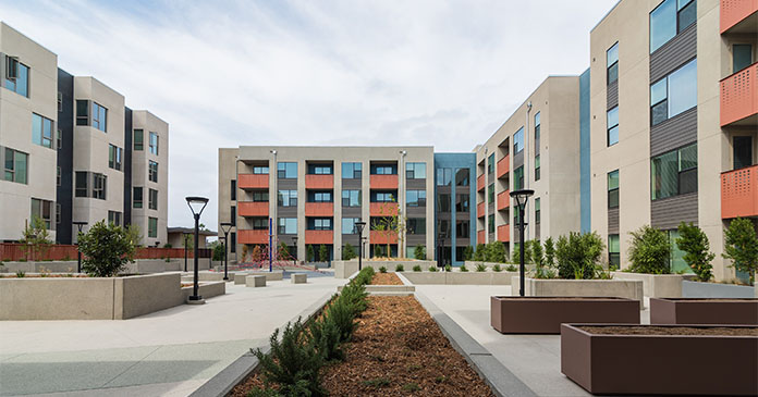 Stella and Bluewater, courtesy Affirmed Housing