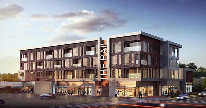 The Rail at Red Bank rendering