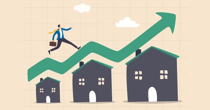 multifamily property price increase
