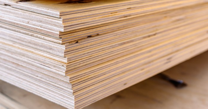 plywood construction materials